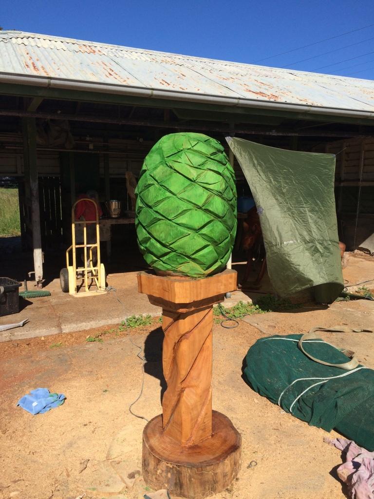 Bunya Nut Maleny wood show