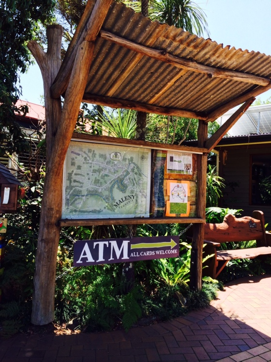 maleny town notice board