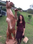 Tara and horse