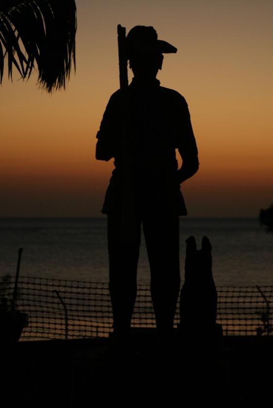 sunset dark solider